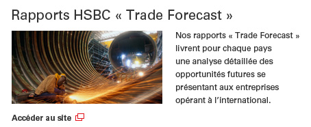 Rapport HSBC Trade Forecast