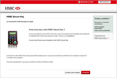Hsbc key - Portfolio protection