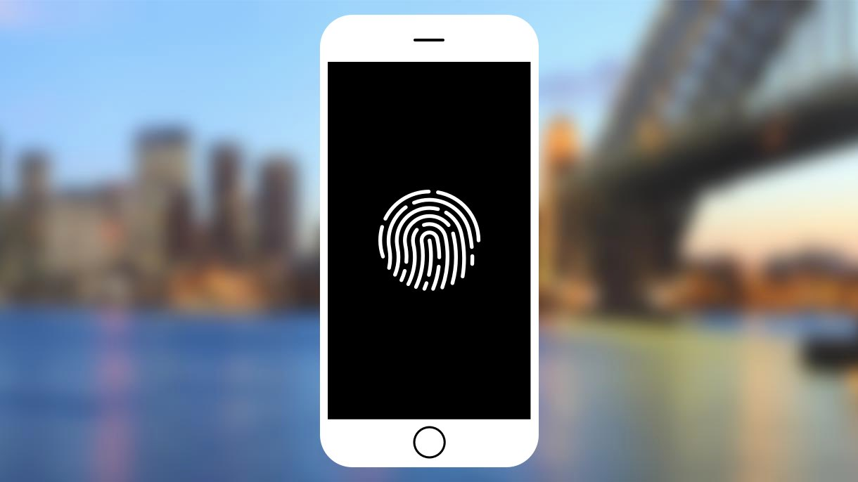 touch ID fingerprint